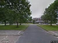 112 melding Brandweer naar Canadezenlaan in Leeuwarden vanwege waarnemen gaslucht