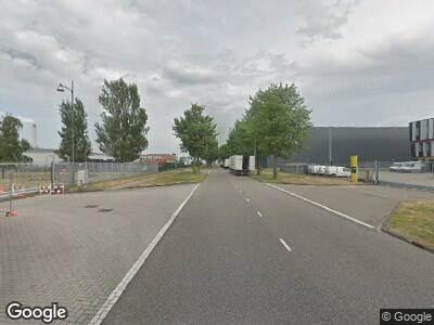 Ambulance naar Scharenburg in Amsterdam vanwege brand
