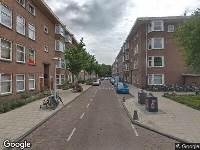 112 melding Ambulance naar Alblasstraat in Amsterdam