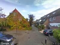 112 melding Ambulance naar Koningsmantel in Alphen aan den Rijn