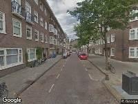 112 melding Brandweer naar Bernissestraat in Amsterdam