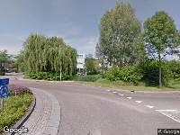 112 melding Brandweer naar Guliksebaan in Venlo vanwege aanrijding met letsel
