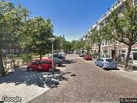 112 melding Brandweer naar Vogelenzangstraat in Amsterdam