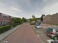 Brandweer naar Oldewierde in Almere vanwege gebouwbrand