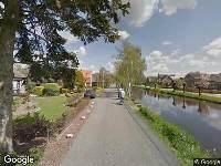 112 melding Ambulance naar Gijbelandsedijk in Brandwijk vanwege brand