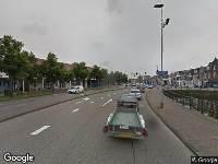 112 melding Ambulance naar Gedempte Herensingel in Haarlem vanwege verkeersongeval