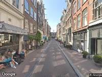 112 melding Ambulance naar Prinsenstraat in Amsterdam