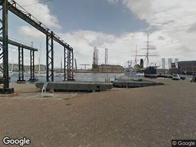 Brandweer naar Willemsoord in Den Helder vanwege verkeersongeval