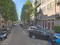 Ambulance naar Rhijnvis Feithstraat in Amsterdam