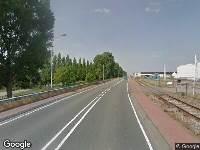 112 melding Brandweer naar Wieldrechtseweg in Dordrecht