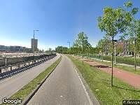 112 melding Brandweer naar Elzenhagensingel in Amsterdam