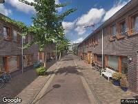 112 melding Ambulance naar Damaststraat in Haarlem