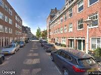 Ambulance naar Hudsonstraat in Amsterdam