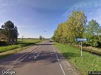 112 melding Brandweer naar Wilgenweg in Groot-Ammers vanwege verkeersongeval