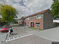 112 melding Ambulance naar Westlandstraat in Tilburg