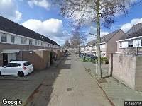 112 melding Politie naar Benthuizenstraat in Tilburg