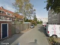 112 melding Brandweer naar Bernhardplaats in Eindhoven vanwege brand