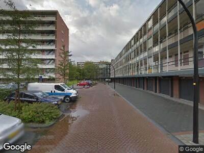 Ambulance naar Louis Zimmermannplein in Schiedam