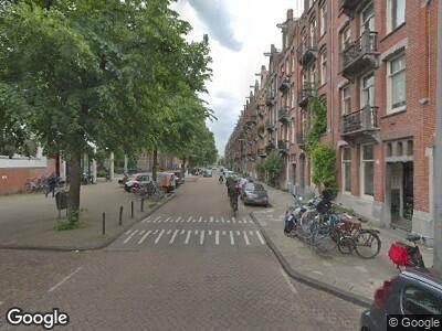 Brandweer naar Domselaerstraat in Amsterdam vanwege een liftopsluiting
