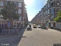 112 melding Brandweer naar Fagelstraat in Amsterdam