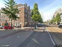 112 melding Brandweer naar Derde Hugo de Grootstraat in Amsterdam
