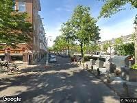 Ambulance naar Davisstraat in Amsterdam