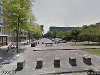 112 melding Brandweer naar Ledeboerstraat in Haarlem vanwege een liftopsluiting
