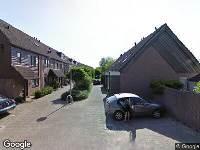 112 melding Brandweer naar Eikenhorst in Alphen aan den Rijn vanwege wateroverlast