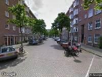 112 melding Ambulance naar Griftstraat in Amsterdam