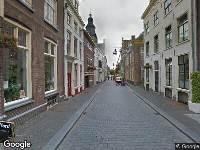 Brandweer naar Lange Hofstraat in Zutphen