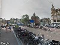 112 melding Ambulance naar Singel in Amsterdam