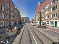 Brandweer naar Witte de Withstraat in Amsterdam vanwege schoorsteenbrand