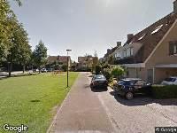 Brandweer naar Koopmanserf in Houten vanwege verkeersongeval