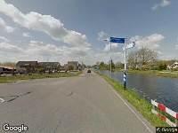 Brandweer naar Hofwegen in Bleskensgraaf vanwege voertuigen te water