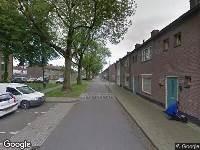 Ambulance naar Churchilllaan in Tilburg