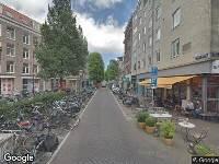Ambulance naar Eerste Van der Helststraat in Amsterdam