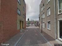 Brandweer naar Moutersteeg in Rotterdam
