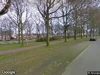 112 melding Brandweer naar Reigerstraat in Tilburg