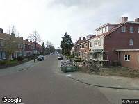 112 melding Brandweer naar Duifstraat in Tilburg