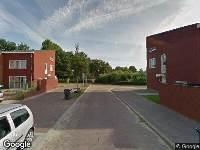 Brandweer naar Schrijnwerkersstraat in Venlo
