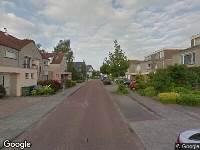 Brandweer naar Tureluur in Veldhoven