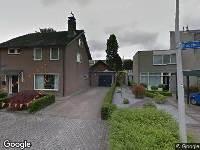 112 melding Ambulance naar Puccinihof in Tilburg
