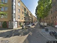 Brandweer naar Van Houweningenstraat in Amsterdam