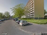 Ambulance naar Bachplein in Schiedam