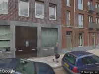 Brandweer naar Eerste Boerhaavestraat in Amsterdam