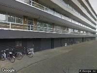 112 melding Politie naar Kapitein Rietbergenflat in Zwijndrecht