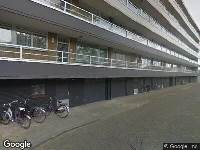 112 melding Brandweer naar Kapitein Rietbergenflat in Zwijndrecht