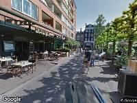 Ambulance naar Marie Heinekenplein in Amsterdam