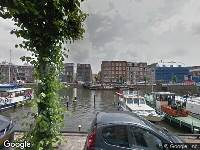 Brandweer naar Achterhaven in Rotterdam