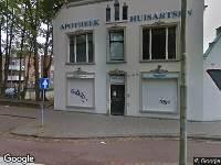 Ambulance naar Korvelplein in Tilburg